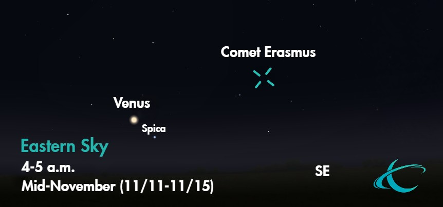How to Spot the Final Comet of 2020